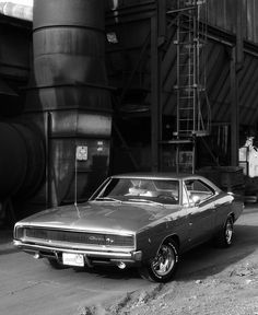 Charger in b&w