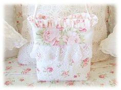 Pretty lace bag.