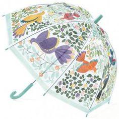 Detský dáždnik Kvety a vtáčiky - 0ks