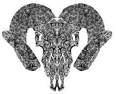 Výsledek obrázku pro chinese tattoo goat