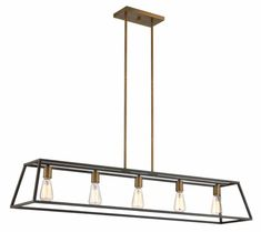 - Overview - Details - Why We Love It - Fulton's minimalist beauty emphasizes 'less is more' with vintage industrial style. This tapered open cage design is constructed without glass making it light a