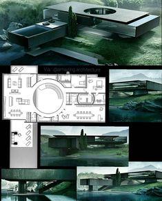 . DD House by Artem Trigubchak, Dimitry Shmatenko & Sivak+Partners #ukraine #3dmax #render www.amazingarchitecture.com ✔️…