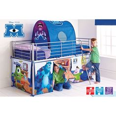 Monsters University Mid Sleeper Tent Pk
