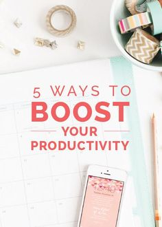Are you wearing a million different hats as a business owner? Read this post! http://www.elleandcompanydesign.com/blog/2015/3/1/5-ways-to-boost-your-productivity…