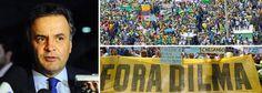 TIPO ASSIM:    SE EU TIVER ANIMADO, SEM RESSACA, EU VOU...  OU AINDA:   SE TIVER MUITA  PATRICINHA,  COM BELAS FRIGIDEIRAS... TALVEZ... QUEM SABE...  Presidente do PSDB só pretende ir às ruas neste domingo 12 se elas estiverem cheias, com o mesmo número de pessoas do dia 15 de março ou mais; caso contrário, o senador tucano vai declarar apoio ao movimento, mas de casa, em Belo Horizonte, para onde viaja agora para passar o fim de semana  .