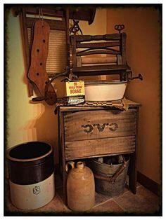 Primitive bathrooms 246853623312639479 - country primitive bathrooms Source by lexigirl Country Primitive, Primitive Country Bathrooms, Primitive Laundry Rooms, Country Laundry Rooms, Laundry Room Signs, Primitive Homes, Prim Decor, Country Decor, Primitive Decor