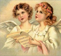 Vintage Christmas Angels - Victorian Angels - The Gallery - Image 4 Christmas Angels, Vintage Christmas, Victorian Christmas, Mary Christmas, Christmas Art, Vintage Pictures, Vintage Images, Victorian Angels, Angels Beauty