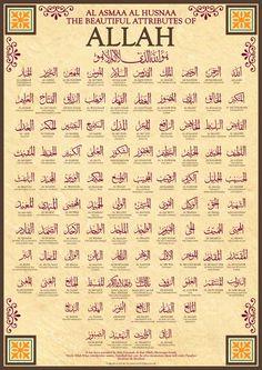 99 name of Allah asmaul husna | HD Wallpapers Collection