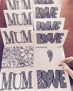 A very spontaneous moment of creating Mothers Day gift cards. I'm from Australia and we spell mom - mum!!!! Loving doing #font these days. Must be the influence from my latest challenge xxx  #type #handdrawntype #handdrawn #36daysoftype #thedailytype #foxyfont #fineline #graphicdesign #typography #handlettering #lettering #illustrator #illustration #drawing #ink #doodling #typematters #blackandwhite #font #drawingoftheday #inkdrawing #linework #freehand #prints #typespire by foxytrot