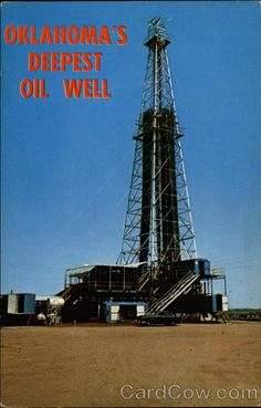 Oil Well 4 miles Deep: With this giant Helmerich and Payne rig the Shell Oil Company drilled the Rumberger feet deep in the search for oil. Oilfield Man, Oilfield Trash, Elk City Oklahoma, Kansas City, Oil Rig Jobs, Trailers For Sale, Trailer Sales, Oklahoma Attractions, Shell Oil Company