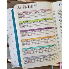 I got this idea from someone in #bulletjournaljunkies for my #billtracker and I…