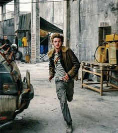 Newt - The death cure Maze Runner Funny, Maze Runner Cast, Maze Runner The Scorch, Maze Runner Thomas, Maze Runner Movie, Maze Runner Series, Thomas Brodie Sangster, The Scorch Trials, Star Wars