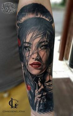 Need a gift ideas for cooks? ✩ Check out this list of creative present ideas for people who are into cooking Lion Forearm Tattoos, Cool Arm Tattoos, Mom Tattoos, Sexy Tattoos, Hand Tattoos, Japanese Warrior Tattoo, Japanese Geisha Tattoo, Japanese Sleeve Tattoos, Sleeve Tattoos For Women