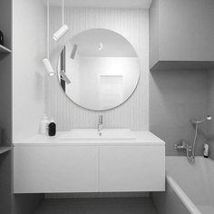 #bath #bathroomdesign #bathroom #grey #white #mirror #interior #inspiration #interiorinspiration #design #designinterior #white #lazienka #szary #projektlazienki #foorma #novodworski