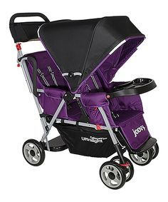 Look at this #zulilyfind! Joovy Purpleness Caboose Too Ultralight Stand-On Tandem Stroller by Joovy #zulilyfinds