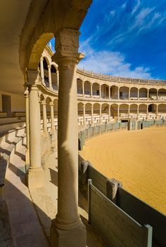 """Ronda - Plaza de Toros"" - Spain - by Jaime Solano    I was here for running of the bulls in 2007...seems like yesterday."