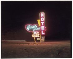 Grandview Motel, Raton, New Mexico, Steve Fitch, 1981