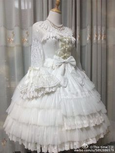 This beauty [-✂-can be custom sized-✂-] and will be [-⌚-available at My-Lolita-Dress.com in November-⌚-]