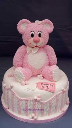Teddy Bear Made From Rice Crispies