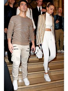 ジジ・ハディッド(Gigi Hadid)、ジョー・ジョナス(Joe Jonas)に体を鍛えてもらいたい?