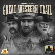 Great Western Trail: PRESALE board game stronghold New #STRONGHOLDGAMES