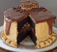 OMG -> All Chocolate and Peanut Butter recipes on ONE page! How awesome is that??.