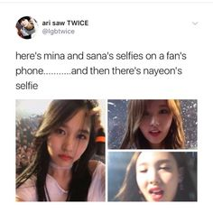 """19.4k Likes, 84 Comments - ✧⁘☽ spam @smolcupoftae ☾⁘✧ (@pandawithnojams) on Instagram: """"mina is all of my friends and nayeon is me"""""""