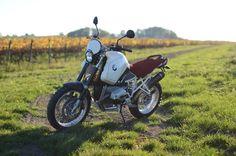 BMW R1200GS Scrambler by Motorieep #motorcycles #scrambler #motos | caferacerpasion.com