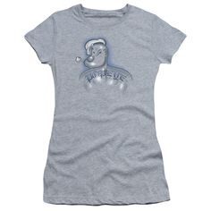 b87bfd36a42c2 Popeye  Back Tat Junior T-Shirt Jersey Shirt