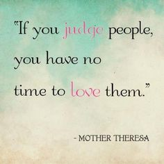 Mother Theresa quote