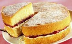 Victoria Sponge Cake che delizia!