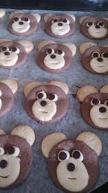 Füsununmutfağı: AYICIK KURABİYE Food Art, Cookies, Desserts, Crack Crackers, Tailgate Desserts, Biscuits, Cookie Recipes, Dessert, Deserts