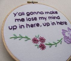 """i already bought her """"no diggity no doubt"""" cross stitch and it is fab.  buy from her if you can!"""