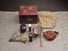 Sadou set  茶筅の入れ物に注目