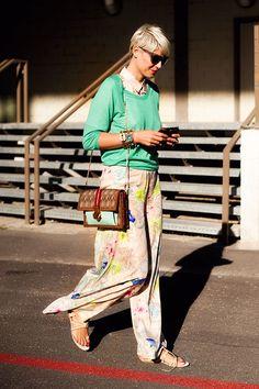 Vanessa Jackman: Paris Fashion Week SS 2012...Elisa