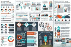 Business Infographic Elements. Human Icons. $8.00