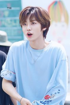 """na jaemin in light blue 💙+🤍"" Nct 127, Nct Dream We Young, Haikyuu, Ntc Dream, Johnny Seo, Nct Dream Jaemin, Fandoms, Entertainment, Na Jaemin"
