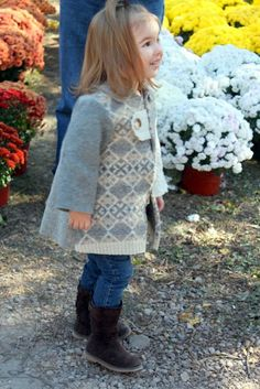 from felted wool sweaters!
