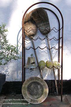 Gammel vinreol