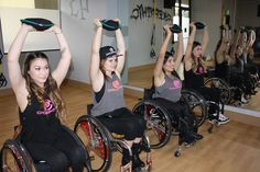 Cyclepathic Fitness - a gym in los Angeles designed for differently able clients which donates some of its income to a charity for accident victims and others similarly affected