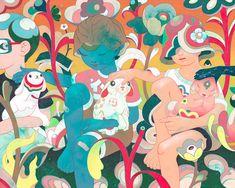 2020 — James Jean Sketchbook Project, Rainbow Rowell, Found Art, Lowbrow Art, Visionary Art, Art Inspo, Contemporary Art, Illustration Art, Abstract