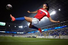 Sydney Leroux  Top 10 Best Female Soccer Players of all time  http://www.sportyghost.com/top-10-best-female-soccer-players-all-time/