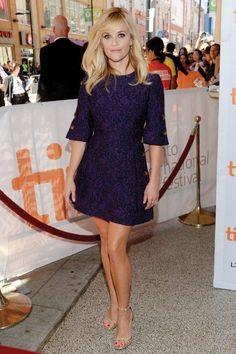 Reese Witherspoon in short dress