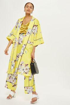 Heron Print Kimono - Trend: Florals - Clothing - Topshop USA