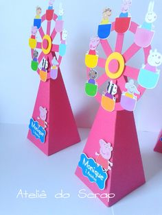 Roda gigante Peppa Pig | Ateliê do Scrap | Elo7