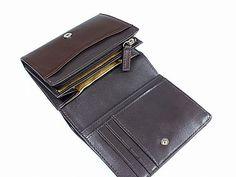 通販|ミチコロンドン[MICHIKO LONDON]ボタン式短財布 カーフ 小銭入れ付き 折財布 メンズ/MJ5713-56