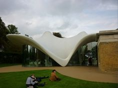 Zaha Hadid's new building and renovation at the Serpentine Gallery
