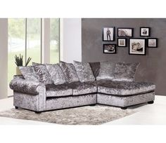The Marilyn Sofa Range By Greysons Furniture Will Create A Centre Piece To Any Room Manufactured Exclusively In UK Using Luxurious Silver Grey