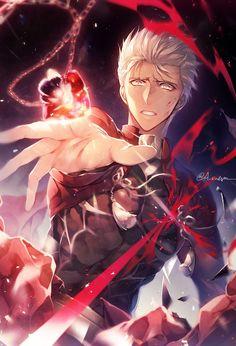 Archer [Fate/Stay Night] #Archer #Emiya #Emiya_Shiro #Fate #Stay_Night #Unlimited_Blade_Works #UBW
