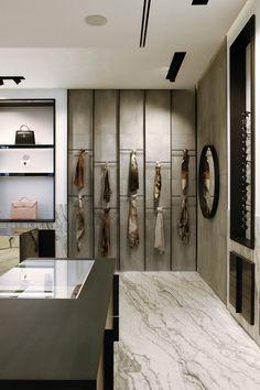 White & Black Marble Look Flooring